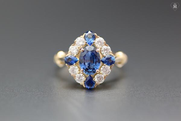 Bague de fiançailles bijoutier parisien