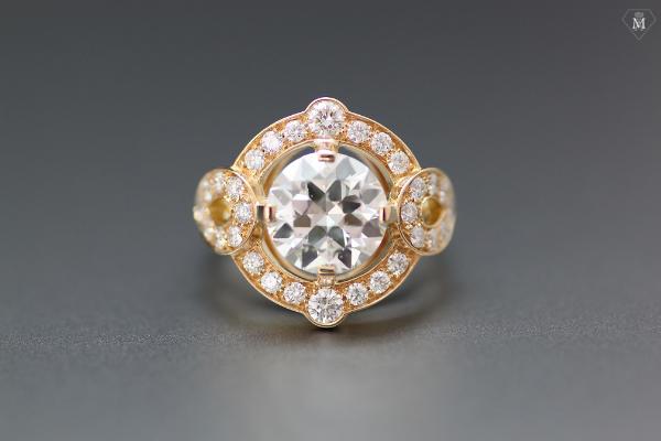 Diamant taille moderne - Atelier MÄHLER